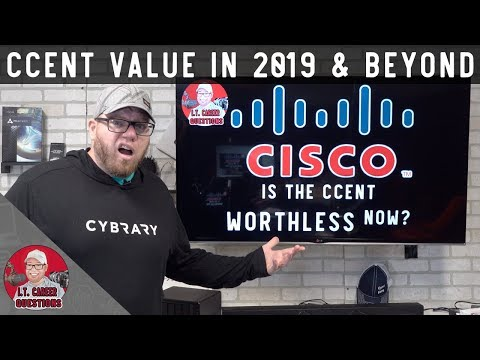 Is the CCENT Worthless Now in 2019? Cisco Certification Value ...