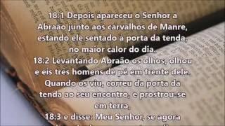 Bíblia falada Gênesis 17 18 19