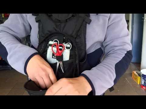 Illex Stalker Bag mellény/táska videó
