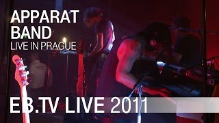 Apparat Band - Live in Prague 2011