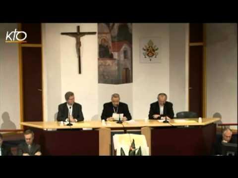 Assemblée des évêques - Séance d'ouverture (automne 2012)