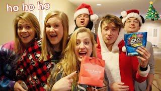 SECRET SANTA GIFT EXCHANGE W/ BESTFRIENDS - vlogmas day 12