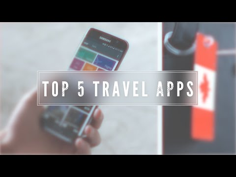 Video Top 5 Travel Apps!