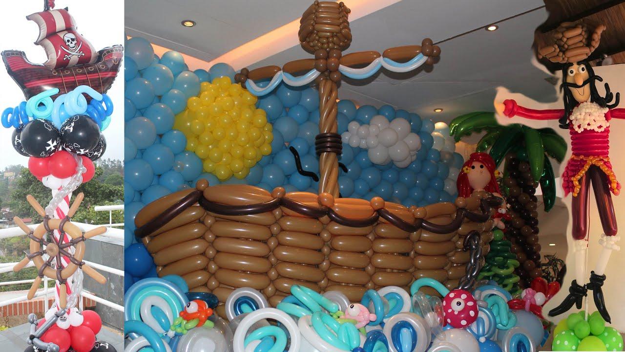 Ideas para Fiestas de Jake y los Piratas, Peter Pan y Marinas