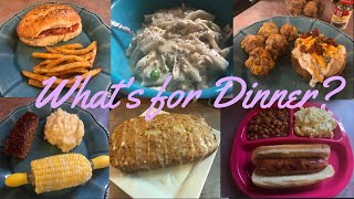 What's for Dinner?| Family Meal Ideas| August 6-12, 2018