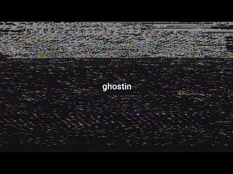 Ariana Grande - Ghostin (Lyric Video)