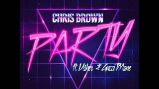 Chris Brown Party Audio
