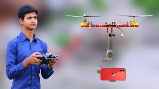 How To Make Two Motor Smartphone Camera Drone