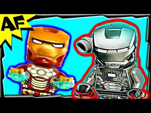 Vidéo LEGO Marvel Super Heroes 76006 : Iron Man : la bataille du port Extremis