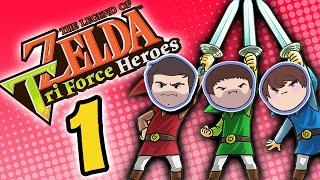 Zelda Tri Force Heroes: Ultimate Lifeform - PART 1 - Grumpcade