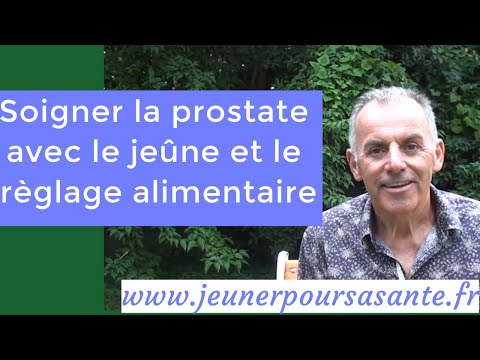 Prostatite de composants sanguins