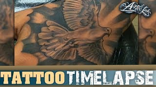 Dove Hand Tattoo Time Lapse Xtasys