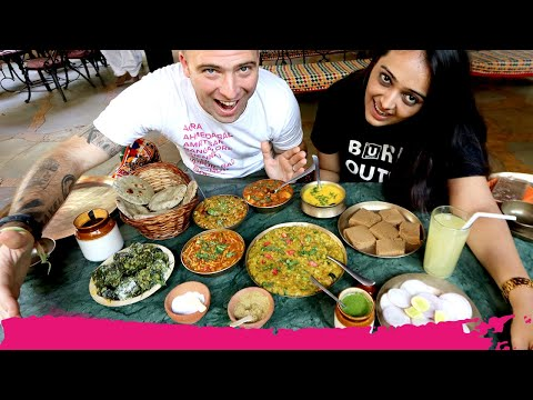 Northern GUJARATI Food from HEAVEN + Pol Neighborhood Tour   Ahmedabad, India