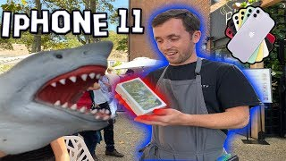 TIPPING WAITERS IPHONE 11!!!!! | Shark Puppet