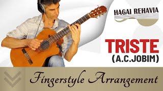 """Triste""(A.C.Jobim)-Bossa Nova guitar  finger style  arrangement by Hagai Rehavia"