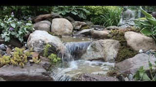 Small LANDSCAPE WATERFALL | How To Build A Pondless Waterfall