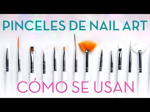 Cómo utilizar los 5  pinceles y herramientas básicas para decorar uñas