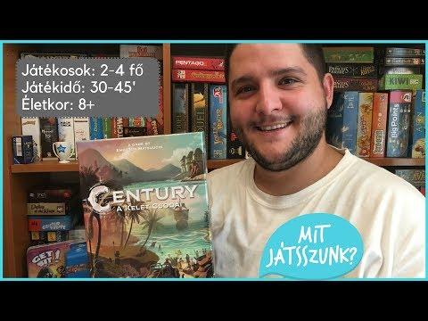 Century: A Kelet Csodái Játékbemutató - Mit Játsszunk?