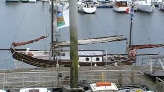 preview picture of video 'Sailing Boat 'Le Saint Quay' Saint Quay Portrieux, Brittany, France 15th July 2009'