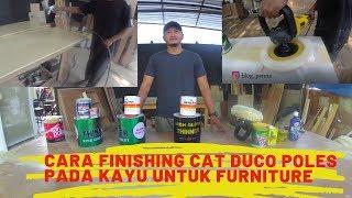 CARA MEMBUAT FINISHING CAT DUCO UNTUK FURNITURE KITCHEN SET #05