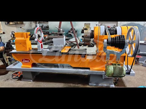 9 Feet Heavy Duty Lathe Machine