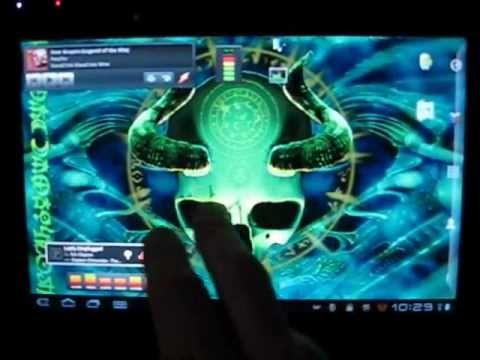 Video of Mystical Skull Free Wallpaper