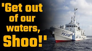 Japan kicks out Chinese vessels bullying Japanese boats in East China Sea