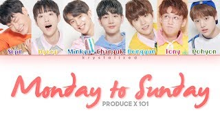 [PRODUCE X 101] Daily Vitamin (데일리 비타민) - Monday to