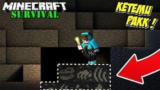 KITA MENEMUKAN FOSIL LANGKA DINOSAURUS YANG TERPENDAM SELAMA 400 JUTA TAHUN ! Minecraft Survival #79