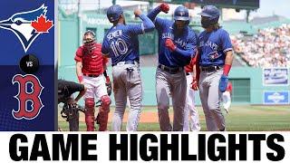 لعبة بلو جايز ضد ريد سوكس (6/13/21)   يسلط الضوء على MLB