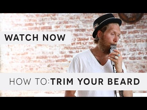 How To Trim Your Beard If You Re Growing It Out