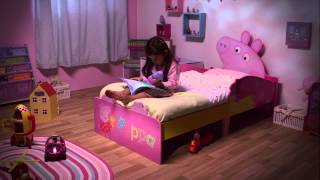 HelloHome Peppa Pig Snuggletime Toddler Bed