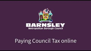Paying Council Tax online