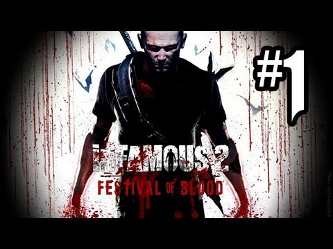 Infamous: Festival Of Blood DLC Gameplay Walkthrough Part 1 - BLOOD & ELECTRICITY!! (PS3 HD)