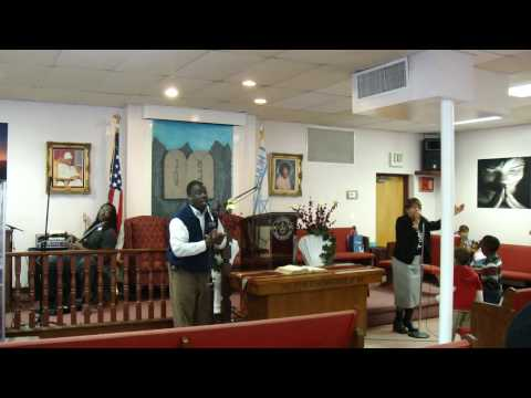 Praise and Worship after the snow storm 4 New Bethel House Of Prayer