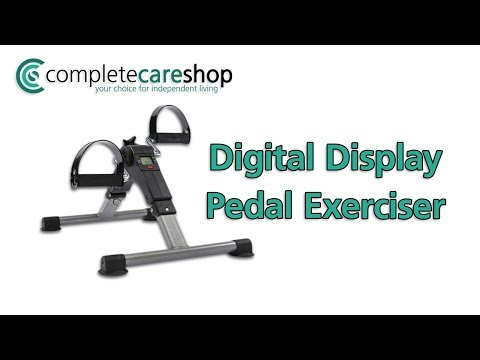 Easy To Read Digital Display Pedal Exerciser
