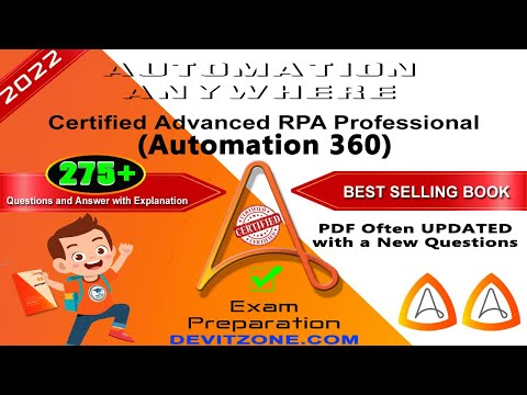 A2019 | Automation Anywhere Certified Advanced RPA Professional ...