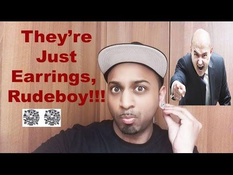 Men Wearing Earrings at Work – Discrimination