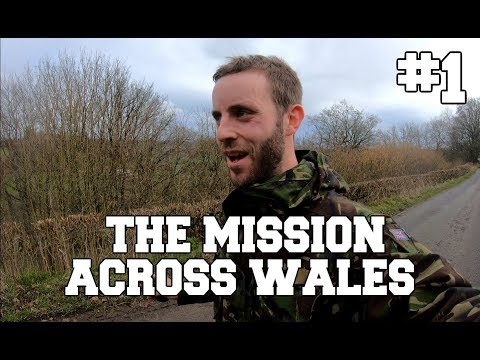 English lad attempts to walk through the entirety of Wales in an absolutely straight line