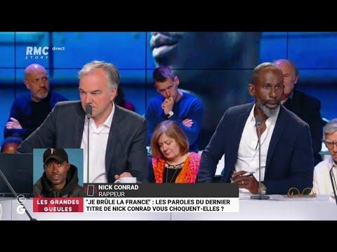 """Clip de rap polémique de Nick Conrad: le rappeur veut """"ouvrir un débat sur la mentalité française"""""""