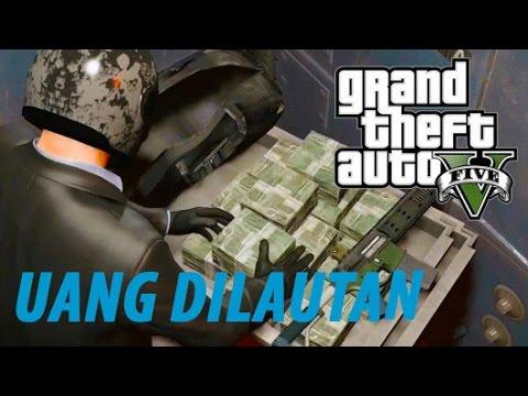 Video RAHASIA CARA MENDAPATKAN UANG DI GTA 5 (Story Mode) Gameplay indonesia #2