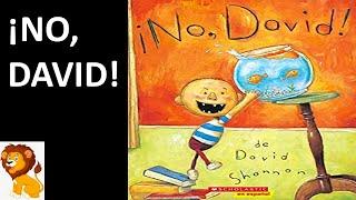 No, David Por David Shannon | Cuentos Para Niños | Cuentos En Español | Libros Con Leo