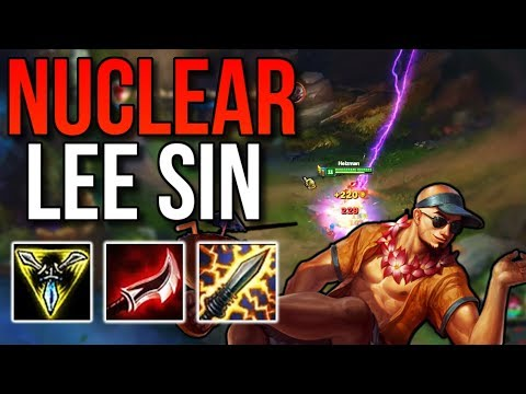 NUCLEAR Lee Sin Shreds | Lee Sin Commentary - League of Legends