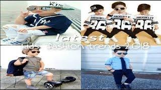 Latest Kids Fashion Trends  2018   Boys Fashion