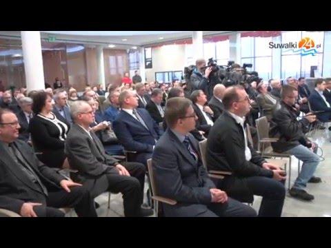 Ministrowie i parlamentarzyści PiS w Suwałkach