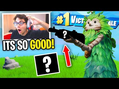 This is the *NEW* BEST Shotgun in Fortnite... (it finally happened)