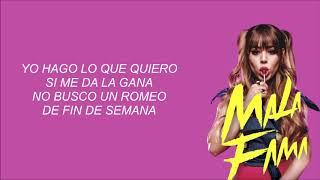 Danna Paola   Mala Fama [LETRA]