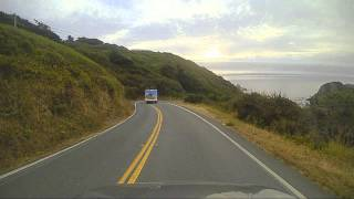 Highway 1 California: Point Arena to Fort Bragg Dashcam