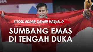 Edgar Xavier Marvelo, Sumbang Emas di SEA Games 2019 di Tengah Kabar Duka Ditinggal Sang Ayah
