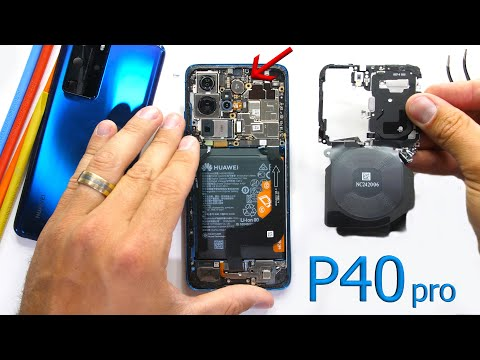 Huawei P40 Pro Teardown – Where is the Ear Piece?